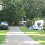 Blich auf den Campingplatz